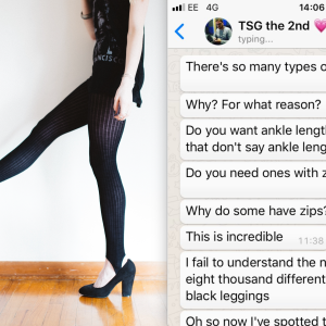 This Boyfriend Had A Major Meltdown While Trying To Pick Out Leggings For His GF At The Store And It's Hilarious