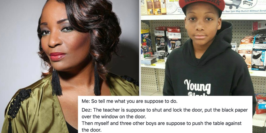 This Mom Asked Her Son What He Would Do During A School Shooting And His Shocking Answer Is Heartbreaking