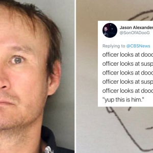 This Hilariously Terrible Sketch Of A Robber Actually Helped Police Arrest Him