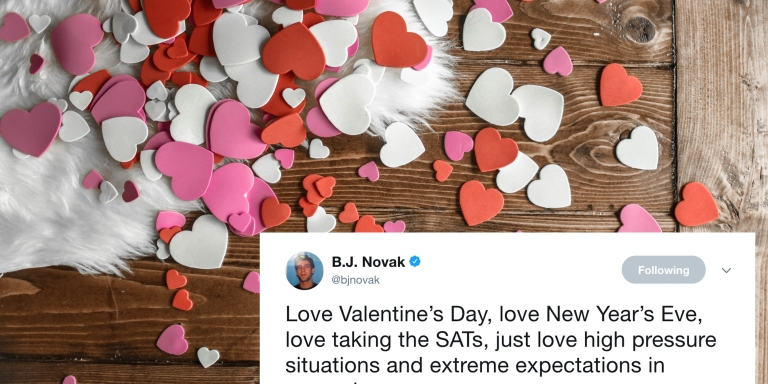 20 Hilarious Valentine's Day Tweets That Are So Much Better Than Roses AndChocolates