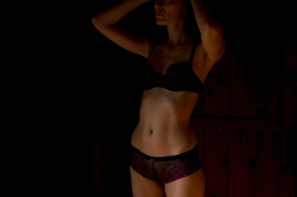 A sexy woman