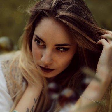 woman looking contemplative