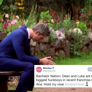 Arie Luyendyk Junior from the Finale of 'The Bachelor'