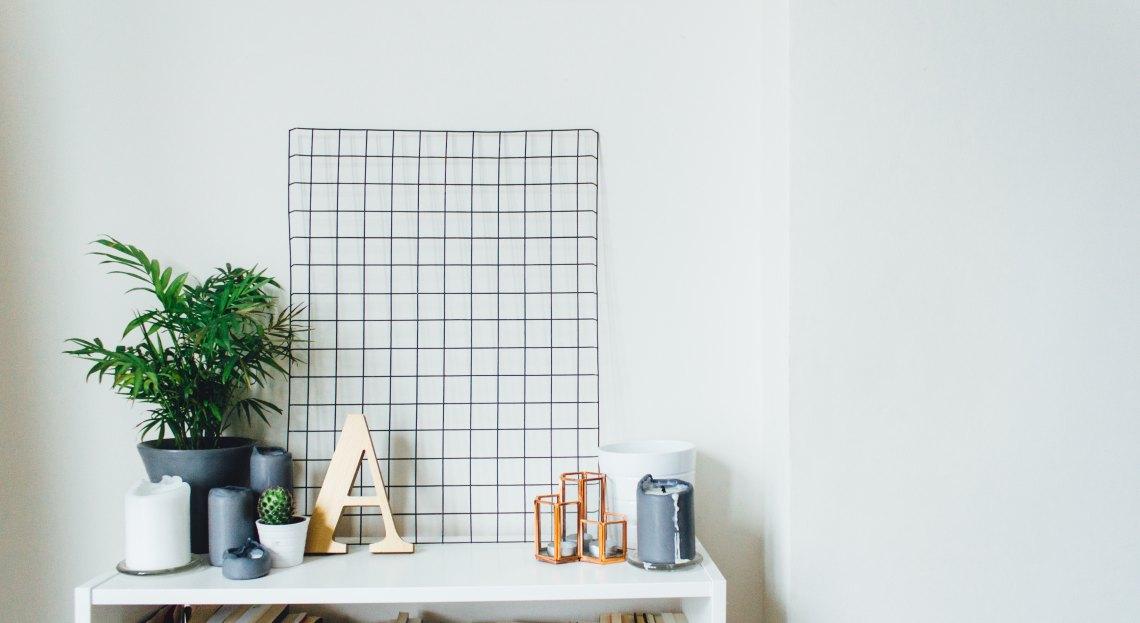Minimalist White Background