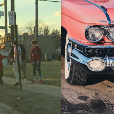 These Teens Stopped Their Car When They Noticed A Homeless Man By The Side Of The Road And What They Did Next Was Heartwarming