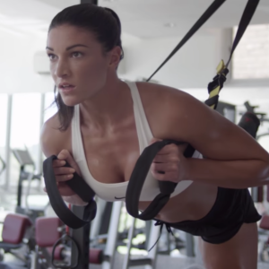 Michelle Jenneke working out in a Worldstar video