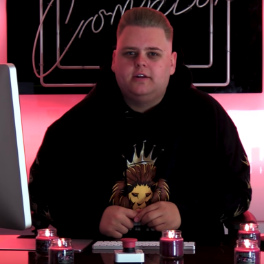 "Nick Crompton in his YouTube video ""A Dramatic Reading Of Its' Everyday Bro"""