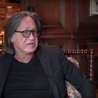Mohamed Hadid during an interview