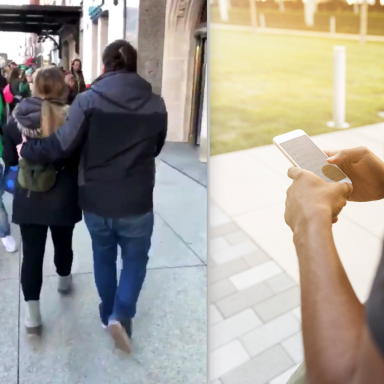 This Couple Got Into A Brutal Public Fight And A Stranger Live-Tweeted The Hilarious Ending