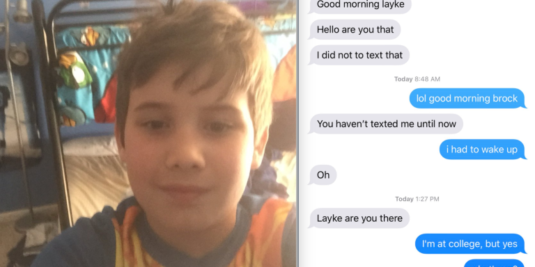 This Guy Taught His 8-Year-Old Brother How To Text And Their Conversations Are HilariouslyWholesome