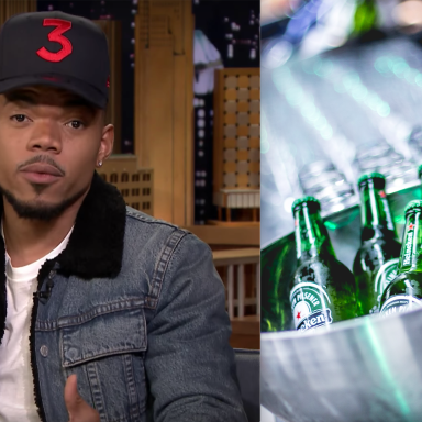 Chance The Rapper Just Called Out This Super Racist Heineken Ad On Twitter