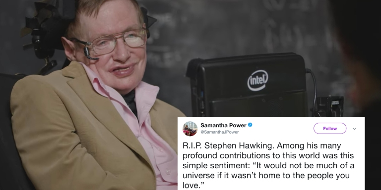11 Tweets About Stephen Hawking's Life (And Death) That Are HeartbreakinglyBeautiful