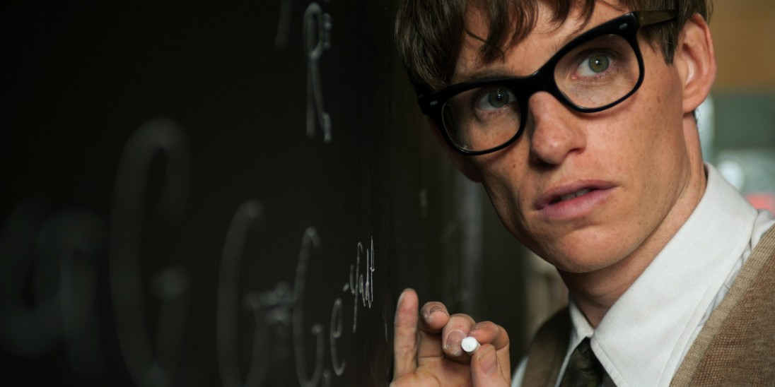 still from the theory of everything stephen hawking
