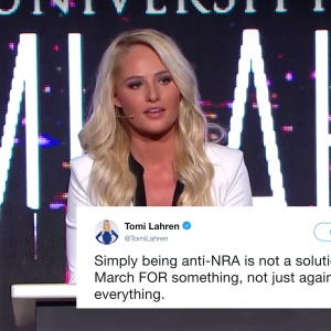 Tomi Lahren Tried To Make Fun Of #MarchForOurLives On Twitter, But It Hilariously Backfired On Her