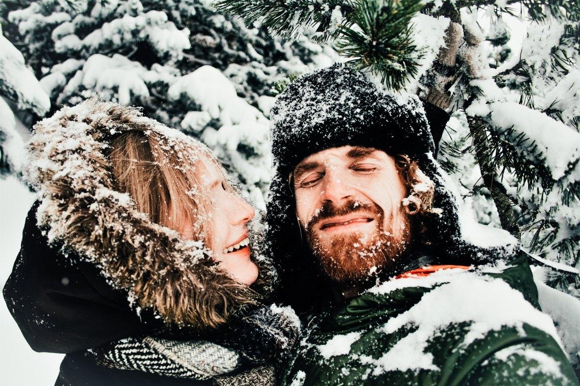 A girlfriend born in winter