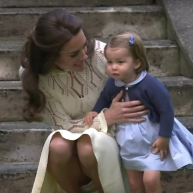 Princess Charlotte Just Made Royal History As She Welcomed Her Baby Brother To The World