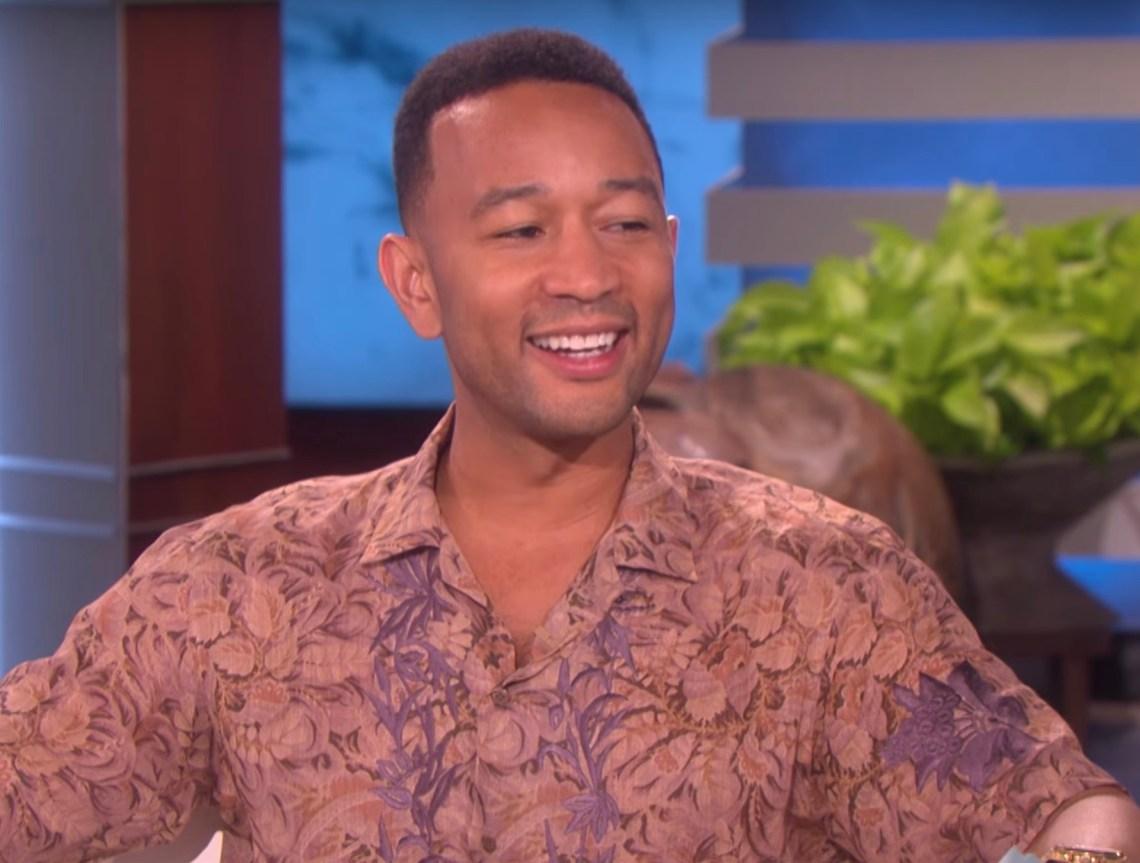 John Legend on The Ellen Show