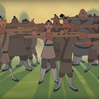 Mulan in I'll Make A Man Out Of You