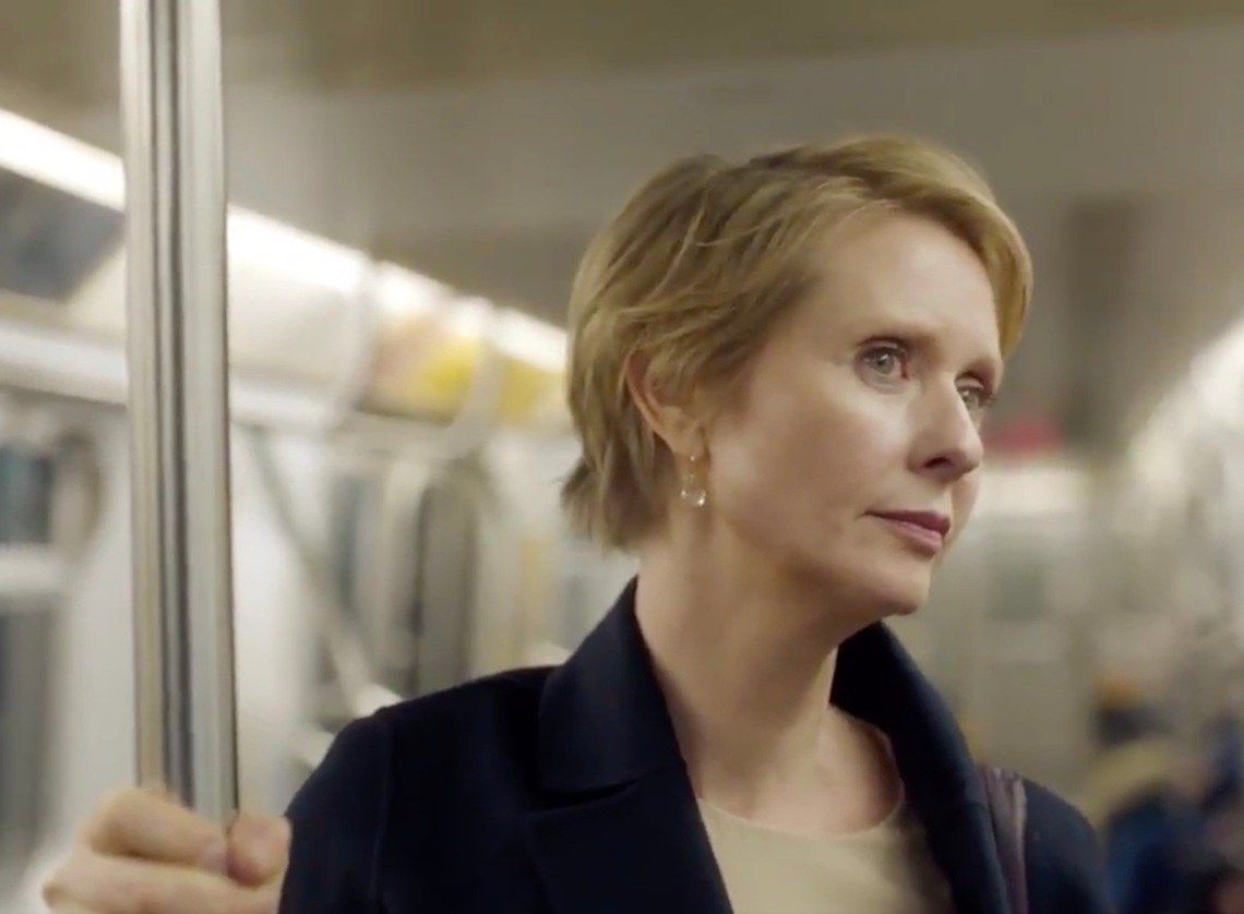 'Sex and the City' Star Cynthia Nixon in her latest campaign video for New York governor
