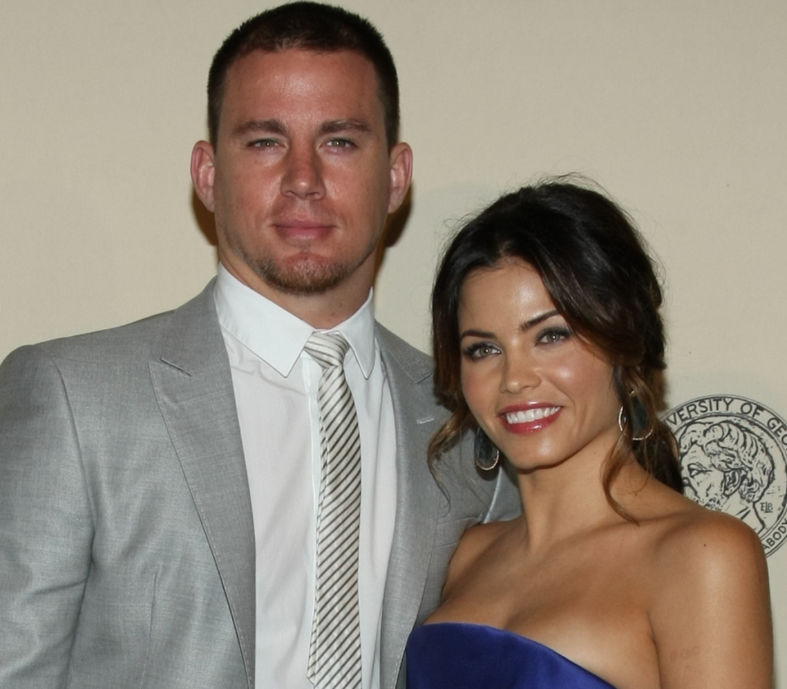 Channing Tatum and Jenna Dewan at the Peabody Awards