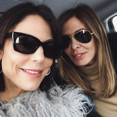 Carole Radziwill Talked About What Caused Her Falling Out With Bethenny Frankel