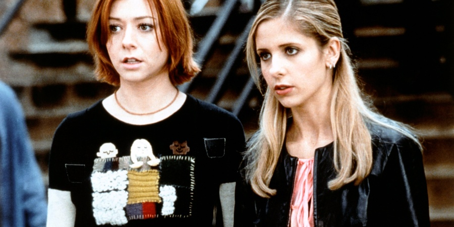 My Best Friend Is Finally Watching 'Buffy The Vampire Slayer' So Now I'm Dead
