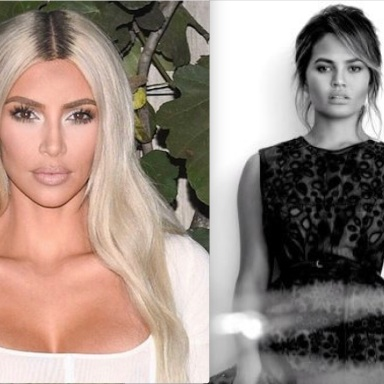 Chrissy Teigen and Kim Kardashian Hilariously Trolled Kanye Over This Bizarre Tweet