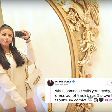 This Youtube Star Was Called 'Trashy' By Her Haters, So She Made An Actual Dress Out Of Garbage Bags