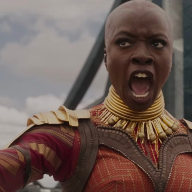 Okoye from the 'Black Panther' trailer