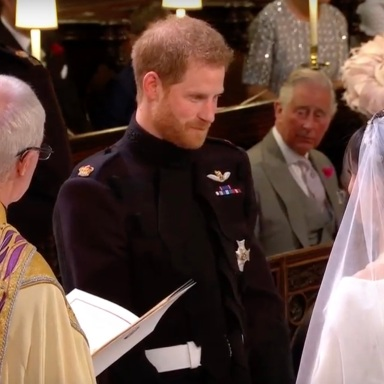 What Did Prince Harry Whisper To Meghan Markle At The Alter?