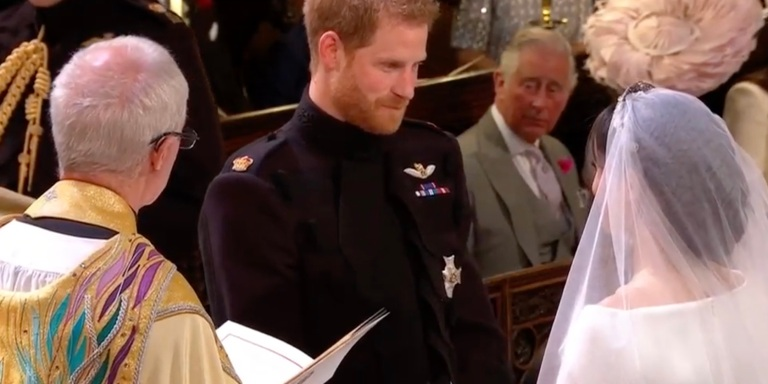 What Did Prince Harry Whisper To Meghan Markle At TheAlter?