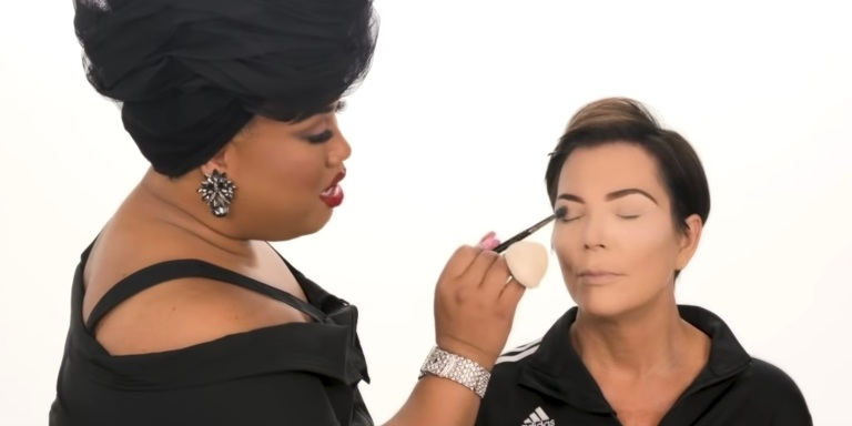 Here's What Happened When This Beauty Blogger Did Kris Jenner's Makeup