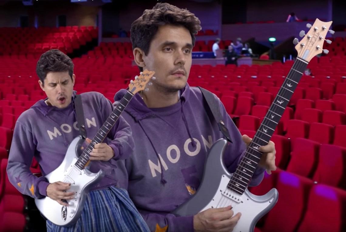 John Mayer's music video for New Light