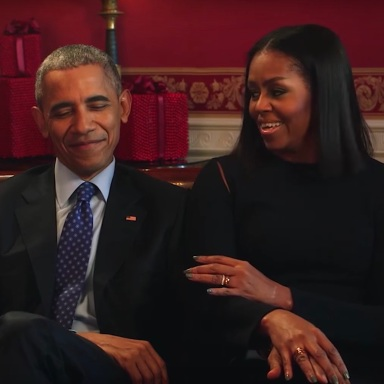 Barack and Michelle Obama in an interview with Entertainment Weekly