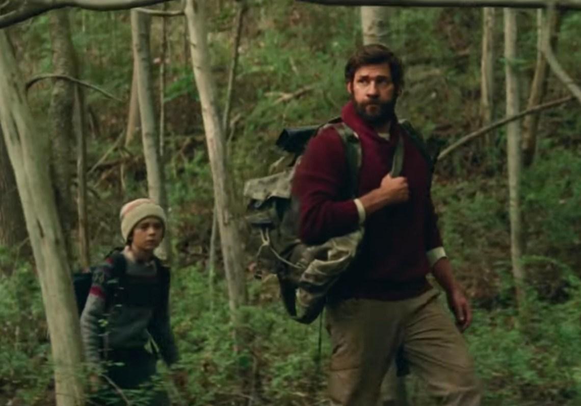 John Krasinski in 'A Quiet Place'