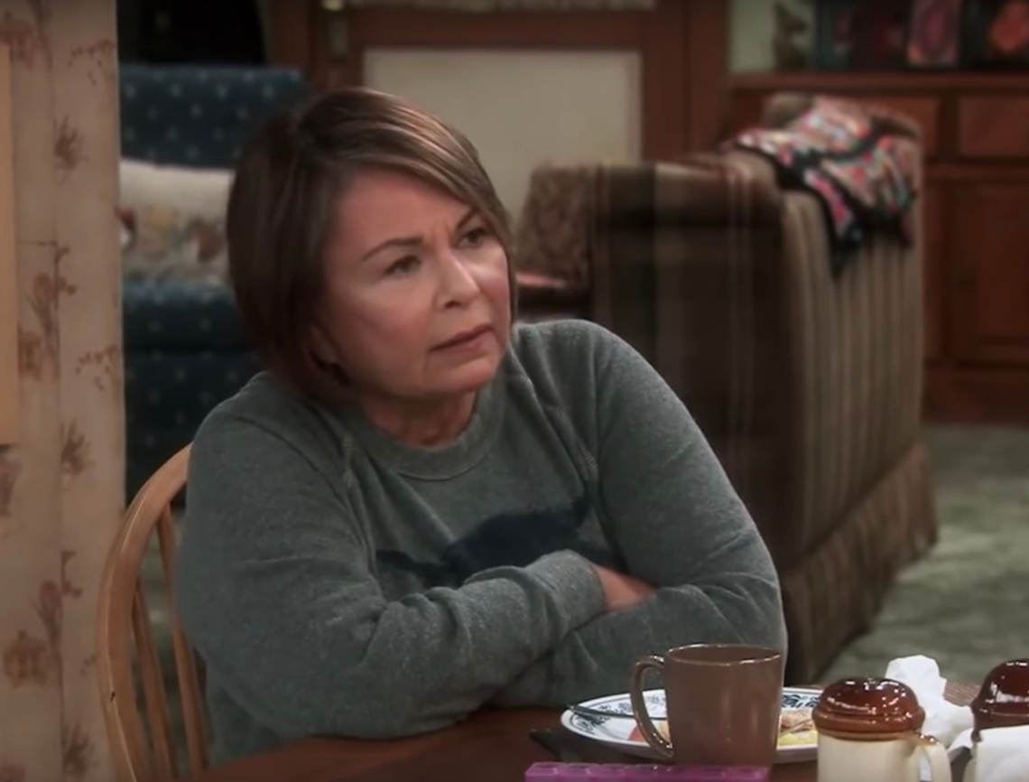 Roseanne Barr in the show's reboot