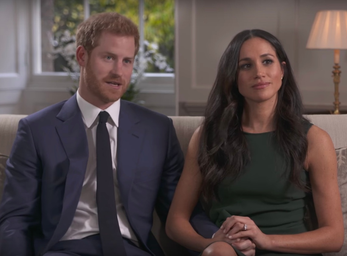 Meghan Markle and Prince Harry in a BBC Interview