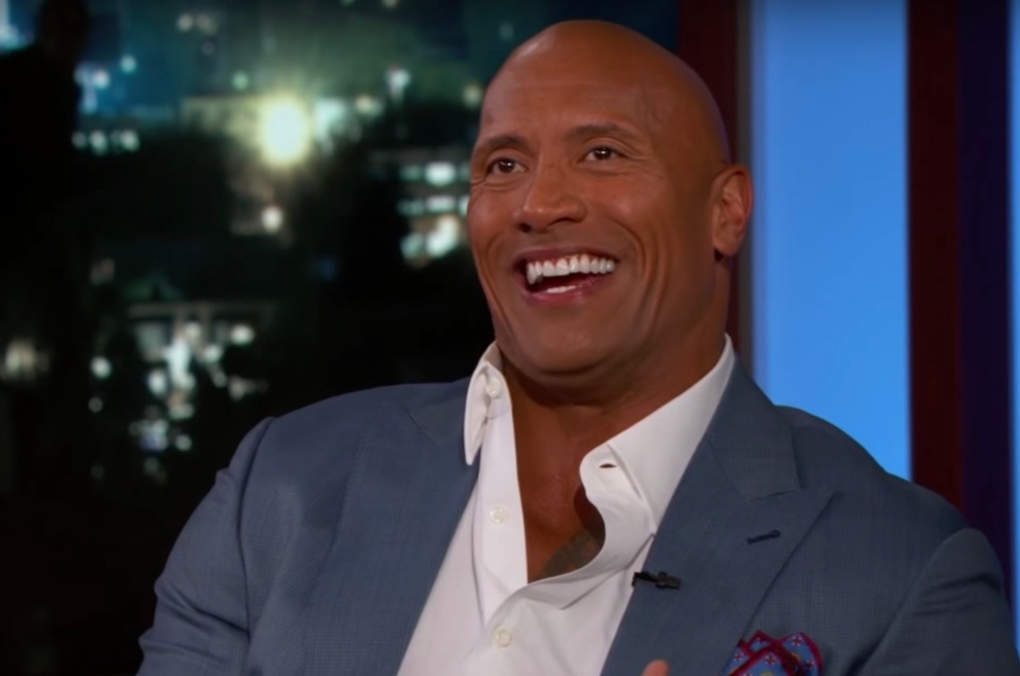 "Dwayne ""The Rock"" Johnson on Jimmy Kimmel Live"