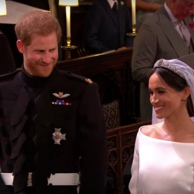 Here's What Harry And Meghan Said About Each Other At The Royal Wedding Reception