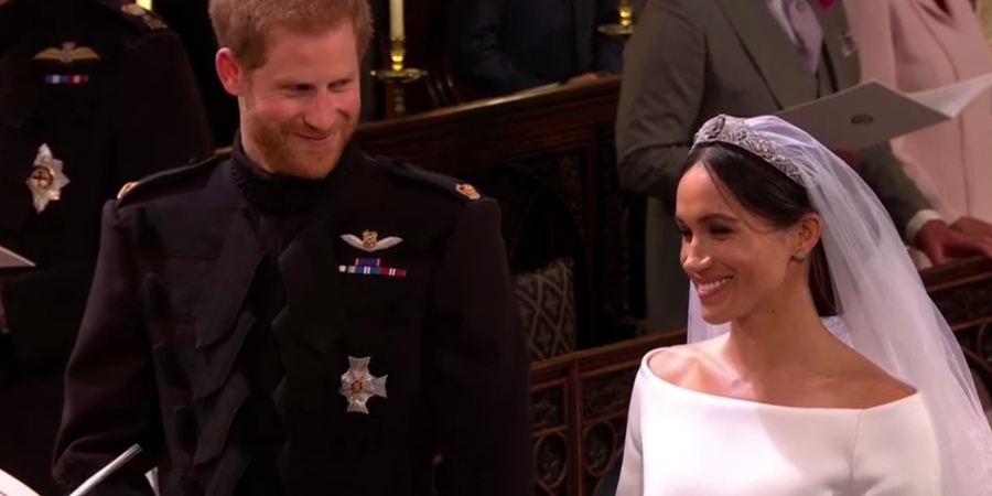 Here's What Harry And Meghan Said About Each Other At The Royal WeddingReception