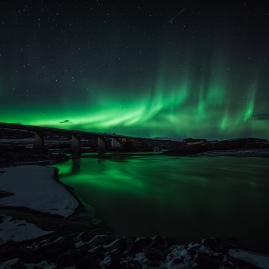 If You Live In The Northern US or Canada, Tonight Might Be Your Chance To See The Northern Lights