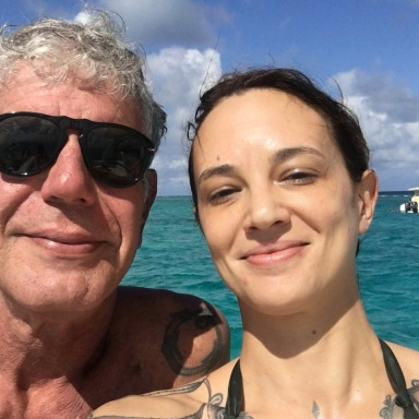 Anthony Bourdain's GF Asia Argento Just Tweeted This Touching Tribute To Him