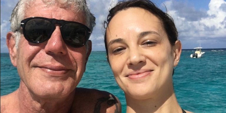 Anthony Bourdain's GF Asia Argento Just Tweeted This Touching Tribute ToHim