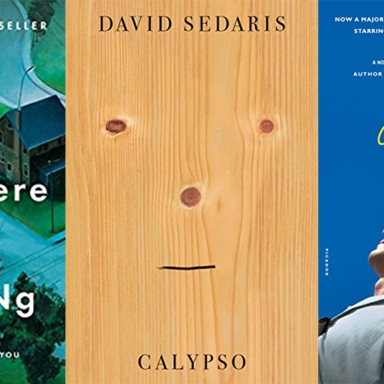 Calypso by David Sedaris, Call Me By Your Name by Andre Acimon, and Little Fires Everywhere by Celeste Ng