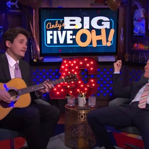 John Mayer and Andy Cohen Are Definitely Not Dating