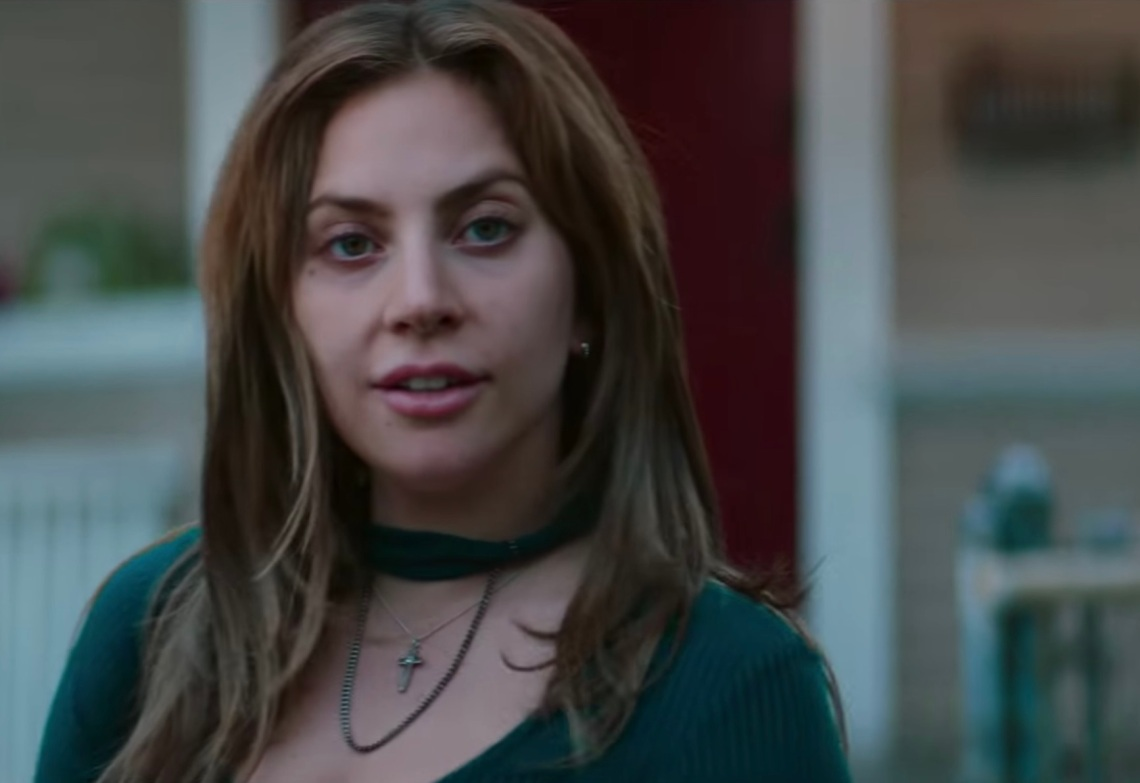 """Lady Gaga in the trailer for """"A Star Is Born"""""""