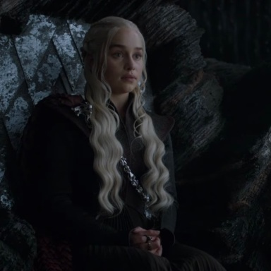 Emilia Clark as Daenerys