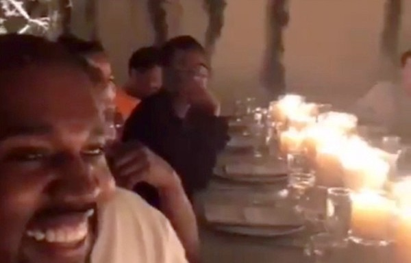 Inside Kanye West's Kanye-Themed Birthday Party
