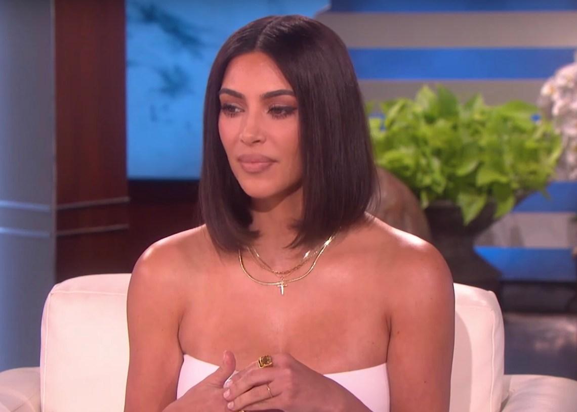 Kim Kardashian on the Ellen Show
