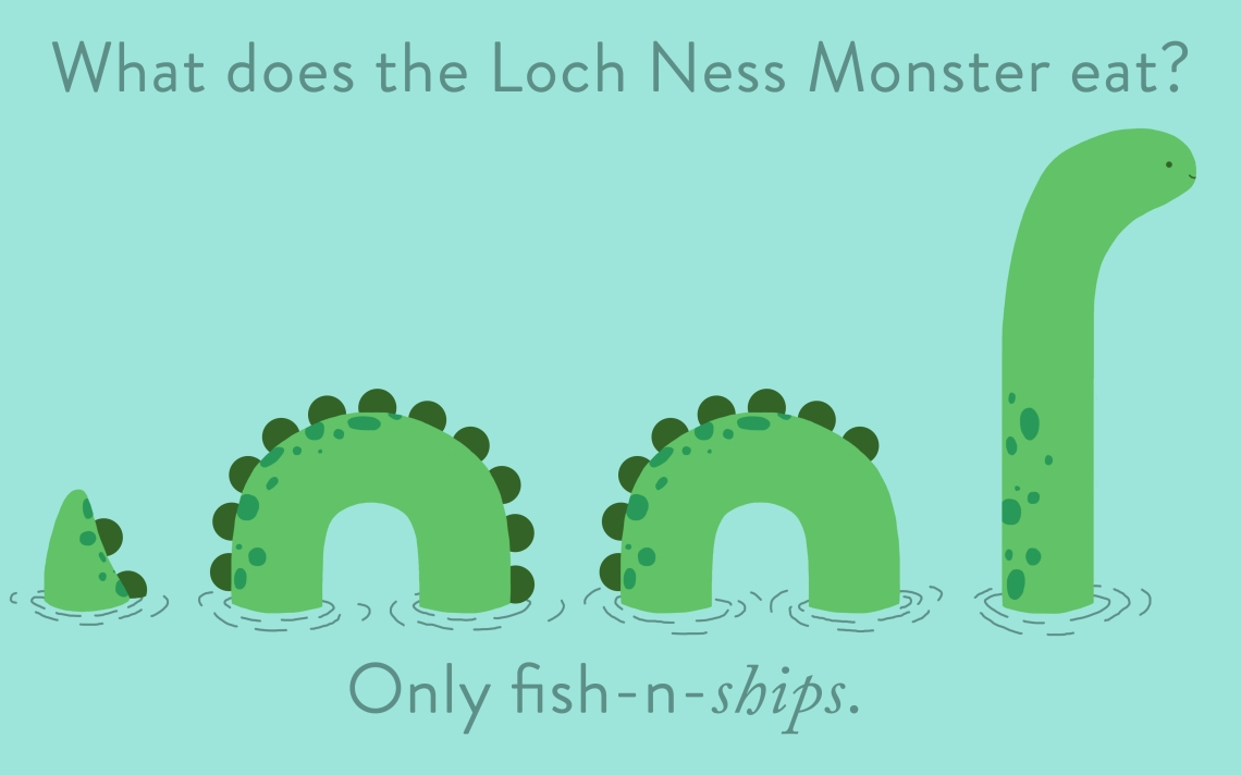 LochNess Monster Pun
